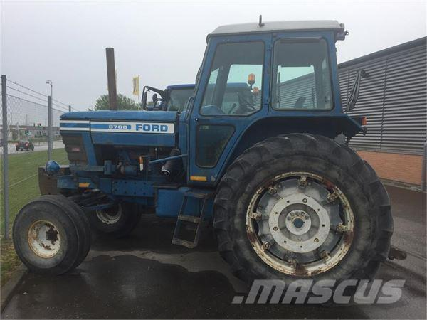 Ford 8700 Tractor : Ford tractors price £ year of manufacture