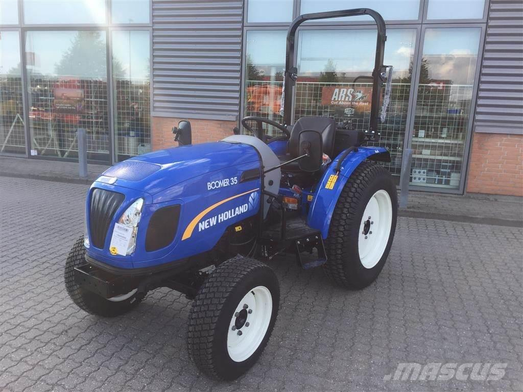 New Holland BOOMER 35 HST ROPS - 38 hk - 4 cyl.