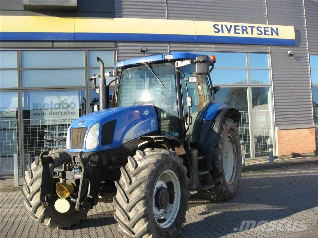 New Holland TSA 135 frontlift og pto