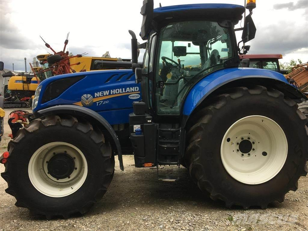 New Holland T7.210 PowerComand Classic med fr. lift + PTO