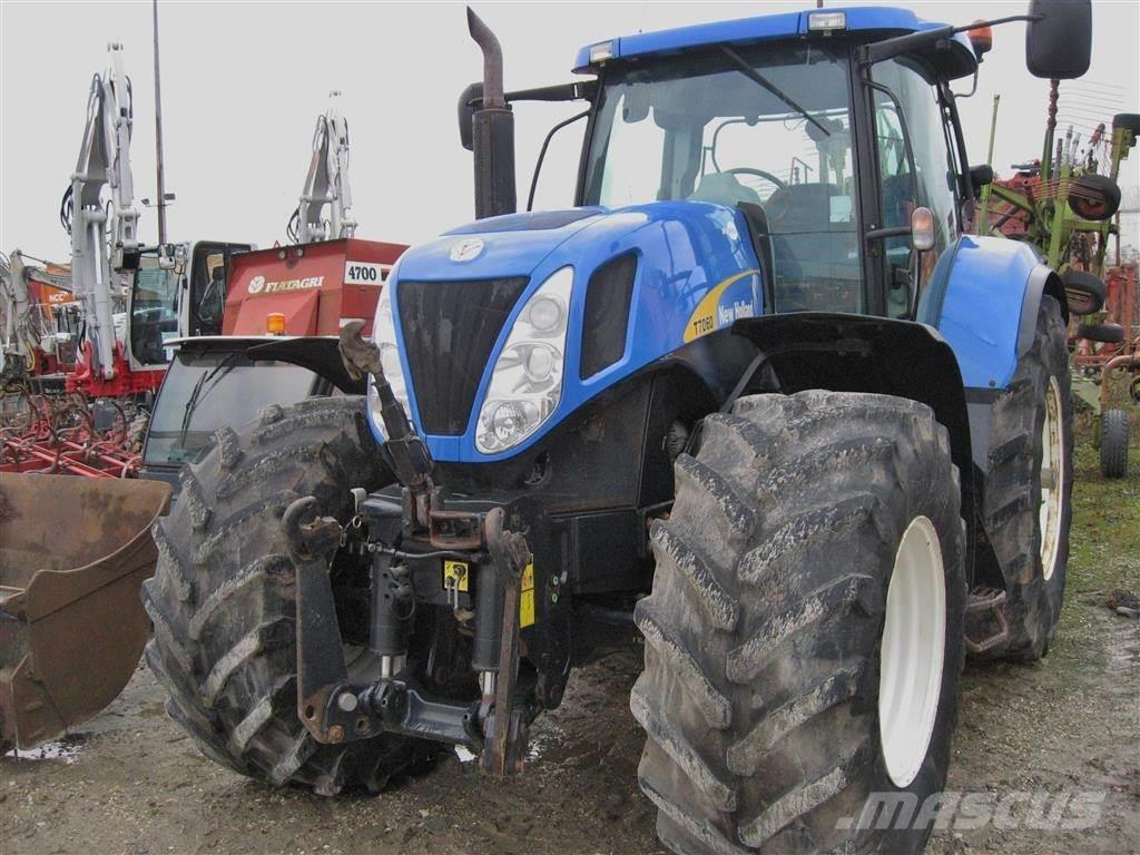 New Holland T7060 DL TG model