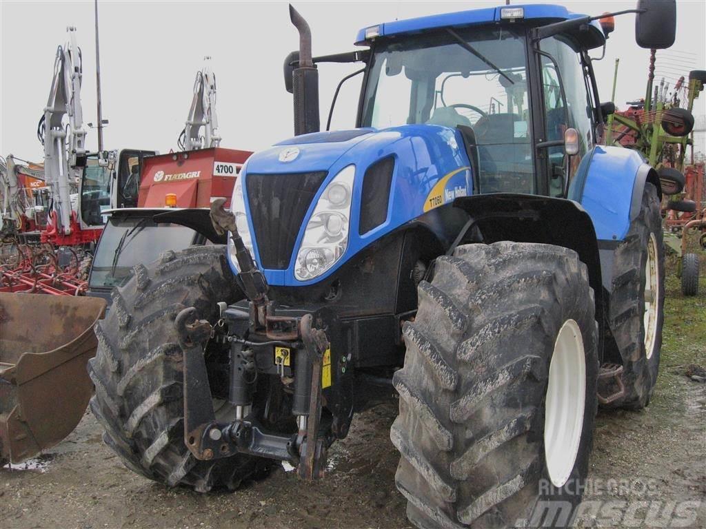 New Holland T7060 DL TG model