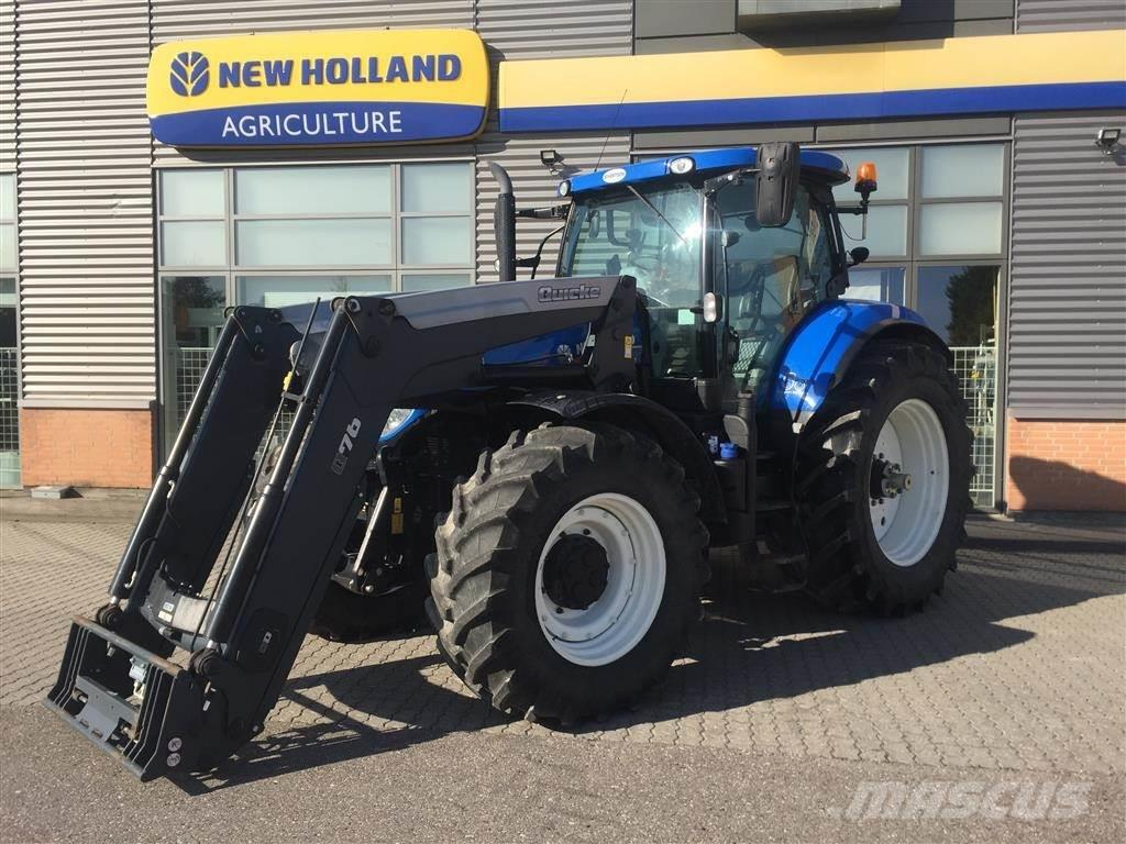 New Holland T7.270 AUTO COMMAND Med Q76 læsser mm.