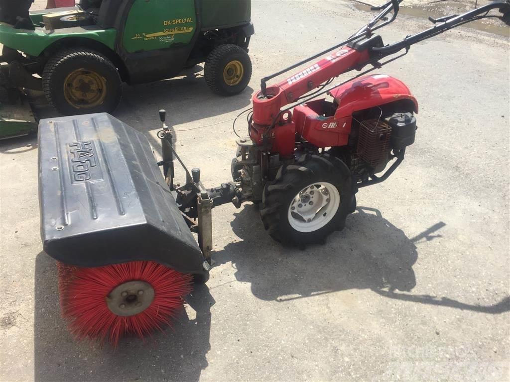 Nibbi Mak 16 9 hk bensin - 100 cm fejemaskine