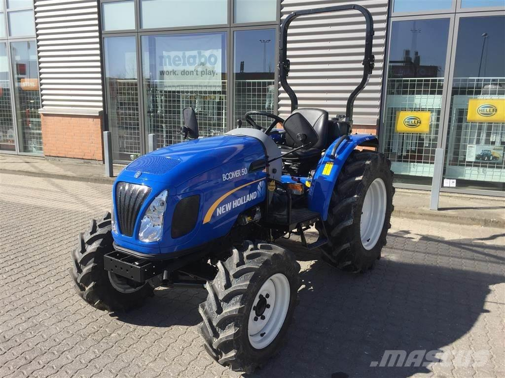 New Holland BOOMER 50 HST ROPS