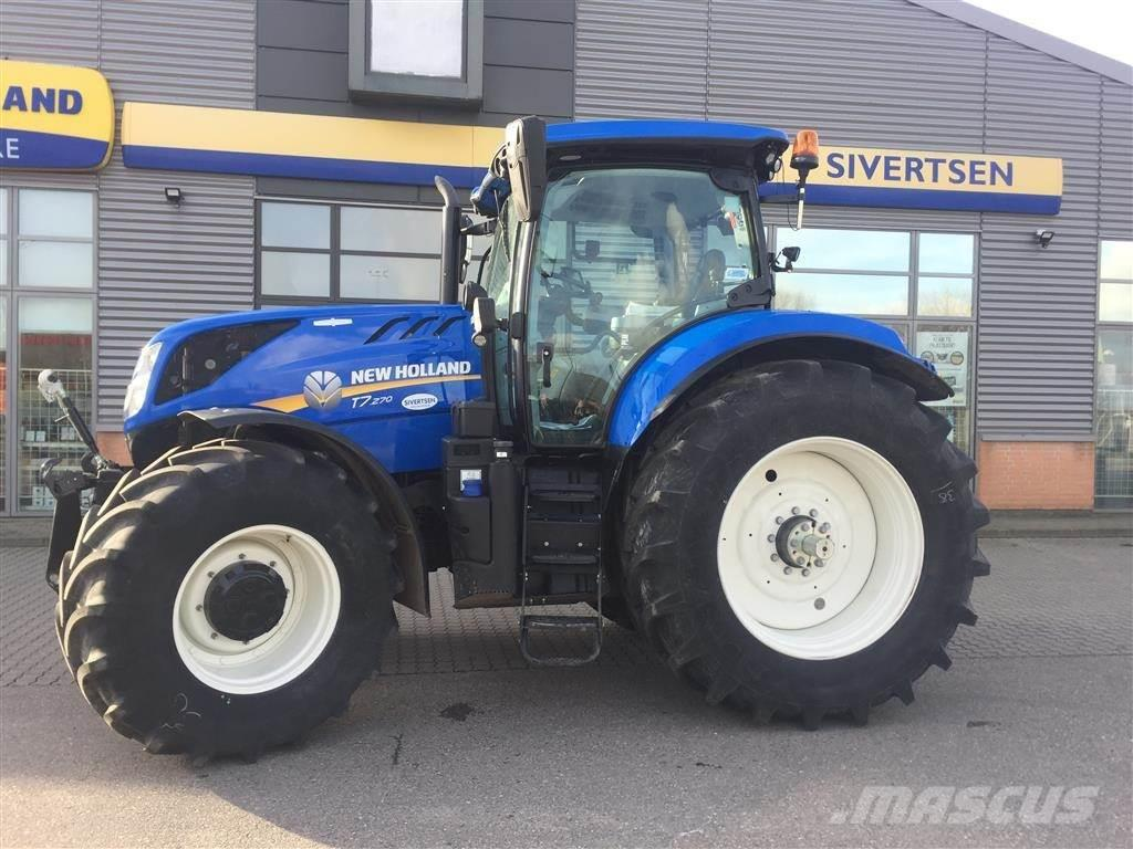 New Holland T7.270 AutoCommand kun 223 timer