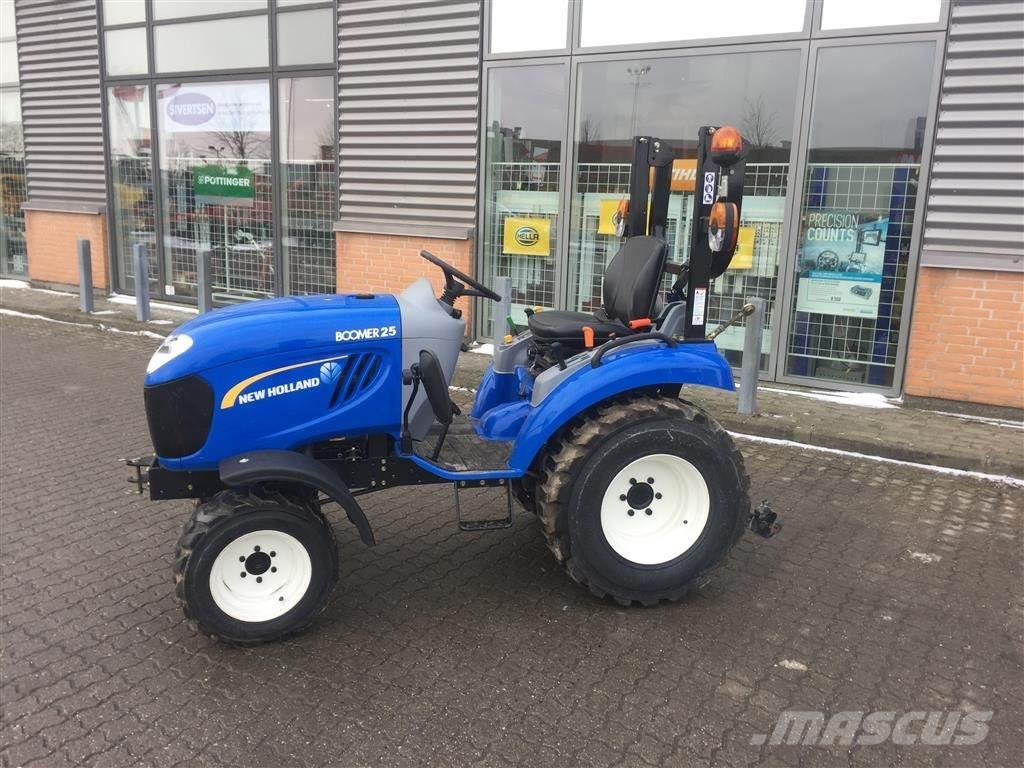 New Holland Boomer 25 ROPS kun 68 timer