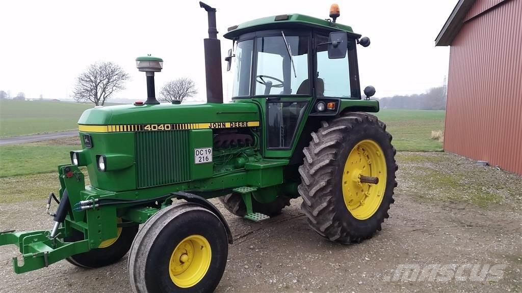 John Deere 4040 : John deere tractors price £ year of
