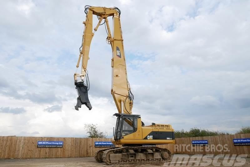 Caterpillar 350L UHD 26m High Reach Demolition Excavator