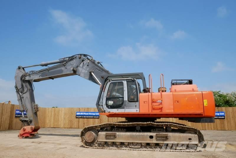 Hitachi EX455-5 28m High Reach Demolition Excavator