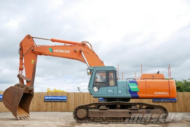 Hitachi EX600LCHE-3