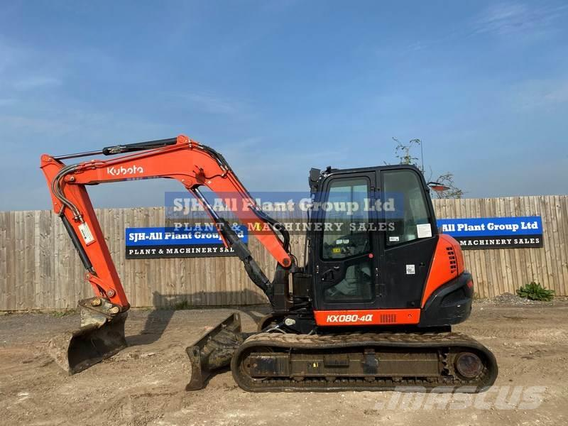 Kubota KX080-4 ECO PLUS