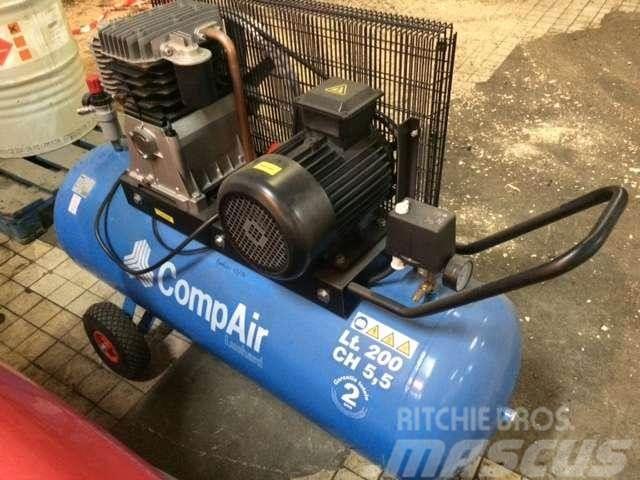 Compair 200 Litres 10 Bars Clc205 Bd Mobile Kompressoren