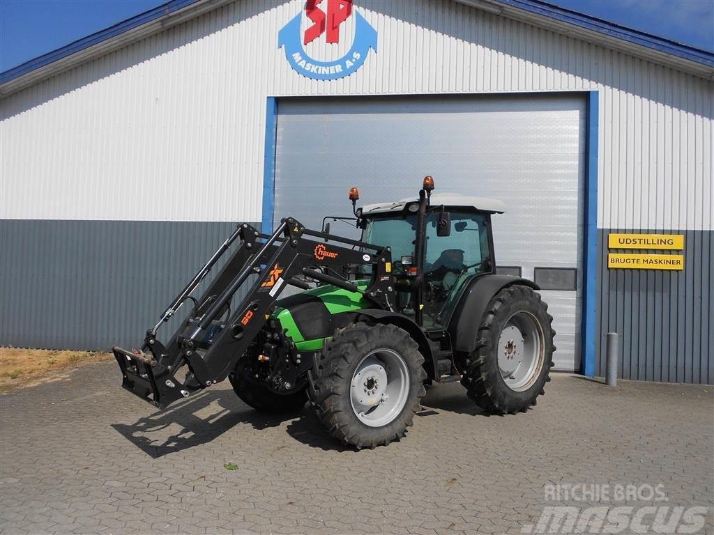 Deutz-Fahr Agrofarm 430 TTV Hauer frontlæsser