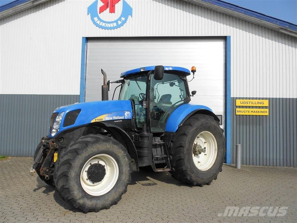 New Holland T7060 TG Frontlift