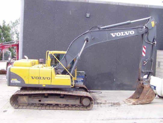 Volvo EC210BNLC til salg , Årgang: 2002 - Brugte Volvo EC210BNLC Larvebånd - Mascus Denmark