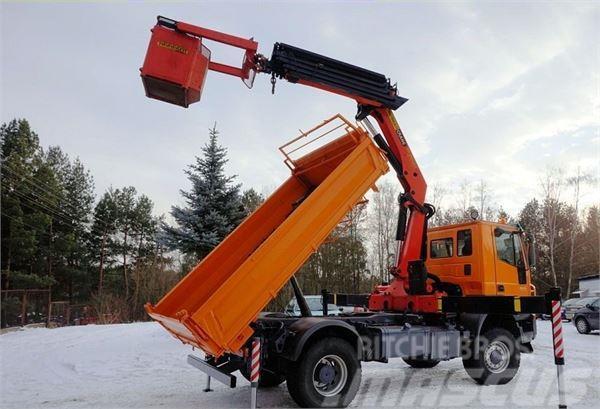 Iveco Trakker 310 4x4 Palfinger PK 20002