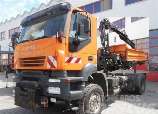 Iveco Trakker 350 4x4 HIAB 088 Kran Kipper