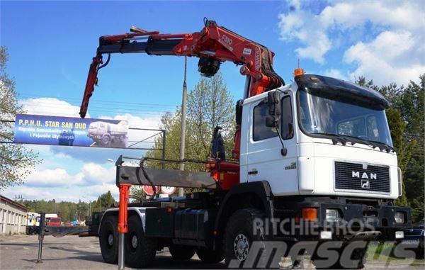 MAN 33.372 6x6  FASSI 380 Multilift
