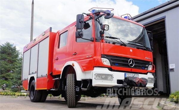 Mercedes-Benz ATEGO 1529 F 4x4 FIRE TRUCK FEUERWEHR