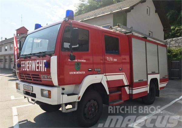Steyr 13S23 4x4 2000 liter FIRE TRUCK FEUERWEHR