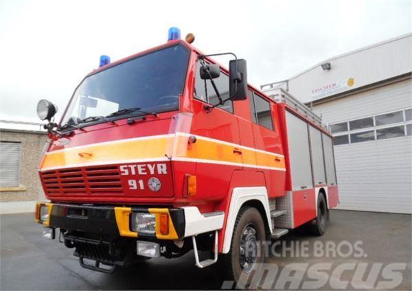 Steyr 19S34 4x4 3000 l ZIEGLER FIRE TRUCK FEUERWEHR