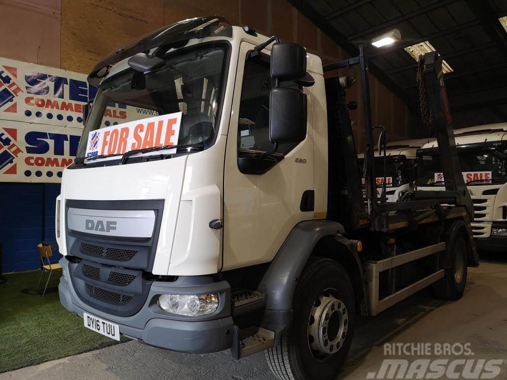 DAF skip truck Lf55