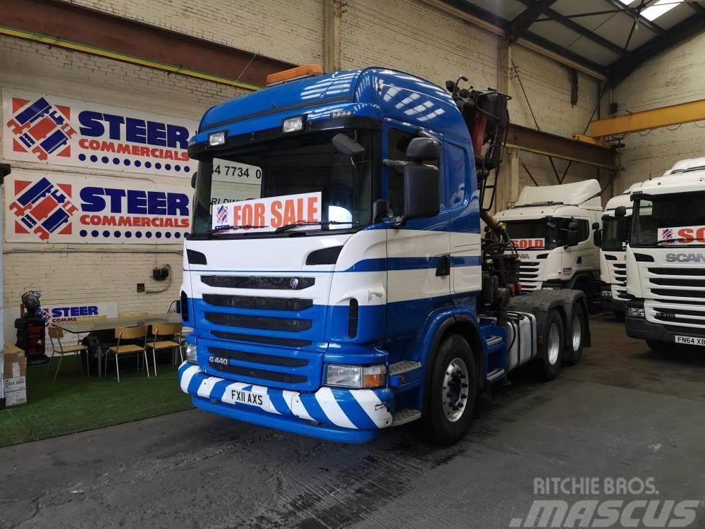 Scania g440 6x4 G440 6x4