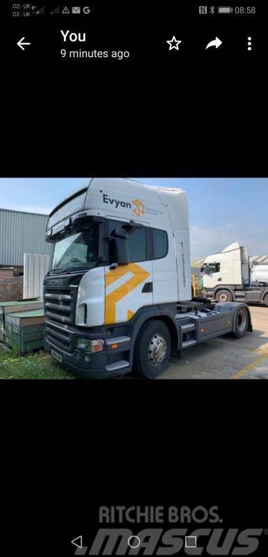Scania r480 Topline 480 4x2
