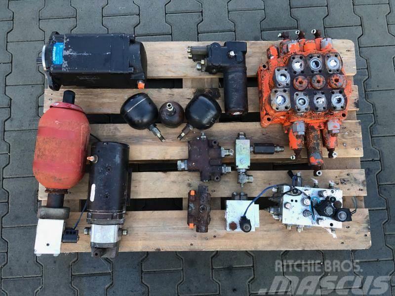 Daewoo dl 300 hydraulika komplet