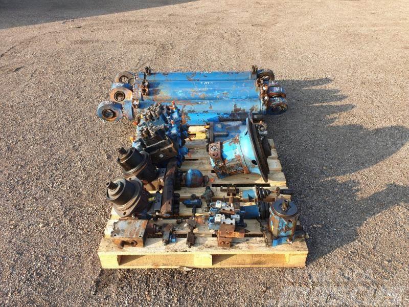 Fuchs 340 hydraulika
