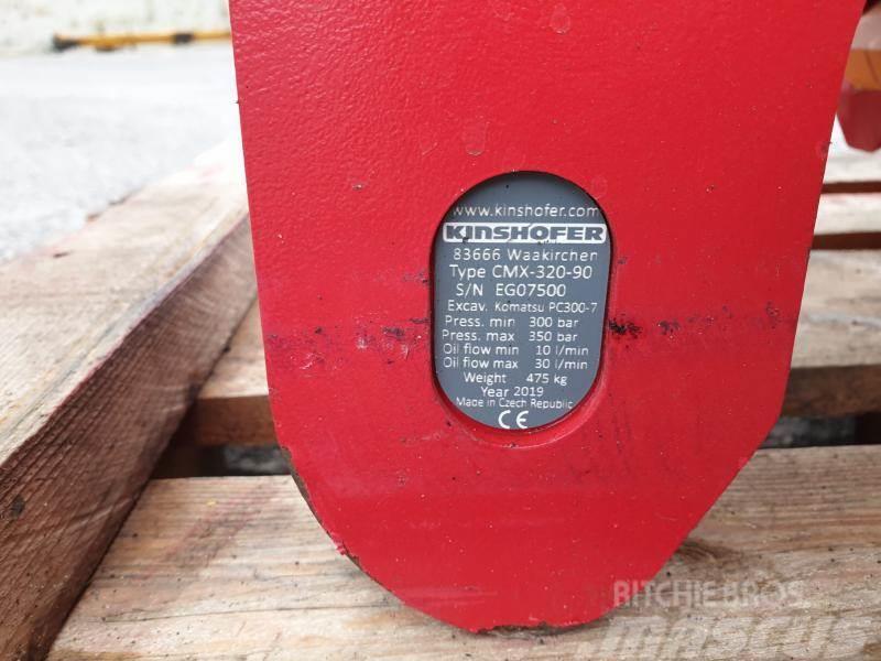 Kinshofer CMX 320-80 nowe szybkozłacze