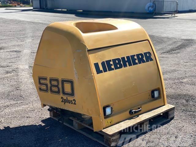 Liebherr 580 2+2 ŁĄCZNIK ŁYŻKI