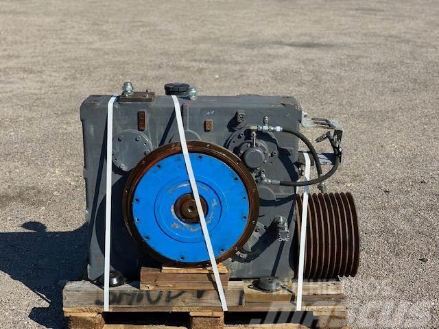 Terex crusher gearbox