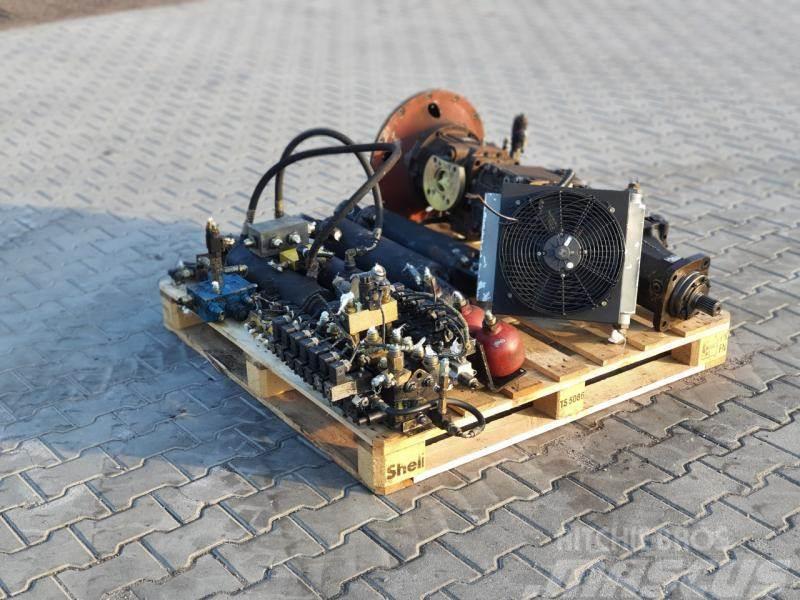 Timberjack 1270 hydraulika komplet