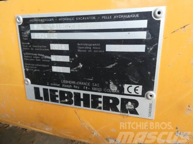 Liebherr R924LC