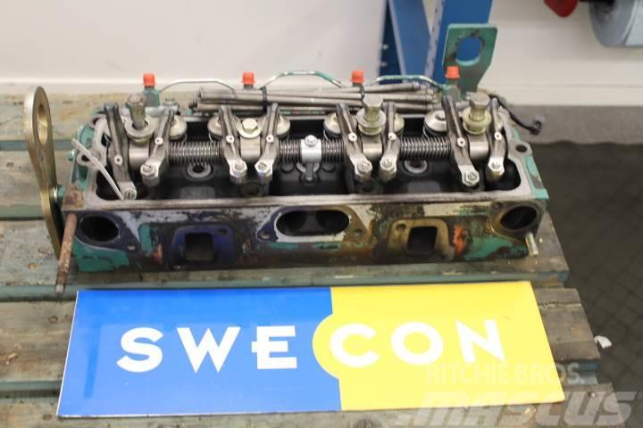 Åkerman EW150C Motor cylinderhuvud