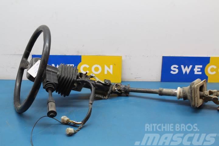Volvo A25C Styrning ratt, styrkolonn