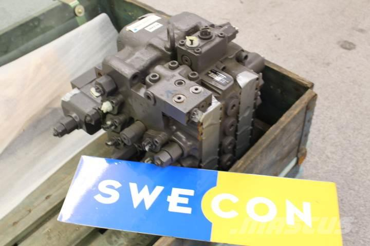 Volvo A25F axel