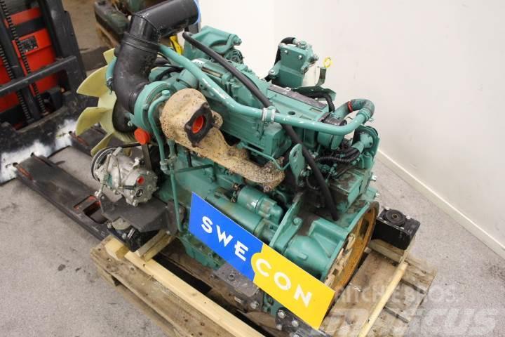 Volvo EC140BLC Motor komplett rak typ