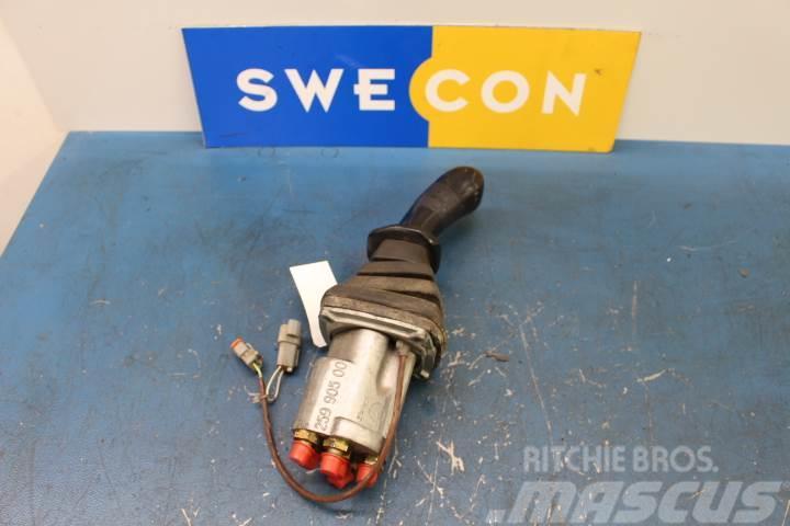 Volvo EC15 Hydraulik ventiler