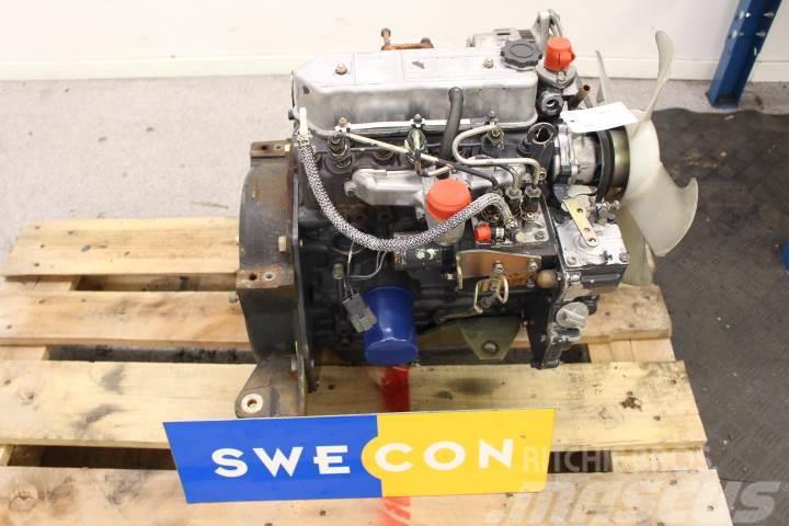 Volvo EC15 Motor komplett rak typ