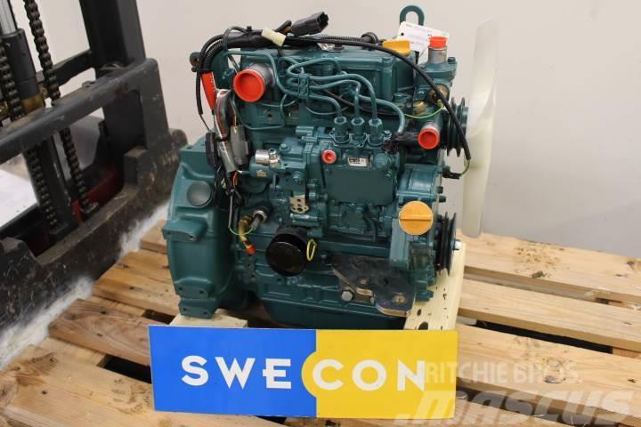 Volvo EC18C Motor komplett