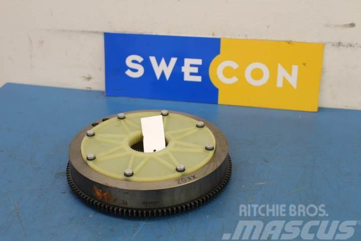 Volvo EC18C Motor svänghjul