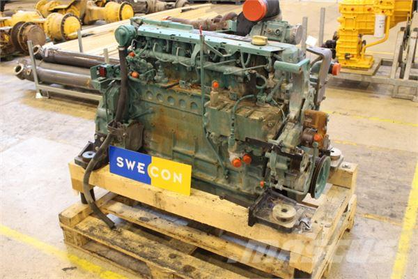 Volvo EC240CNL Motor komplett rak typ