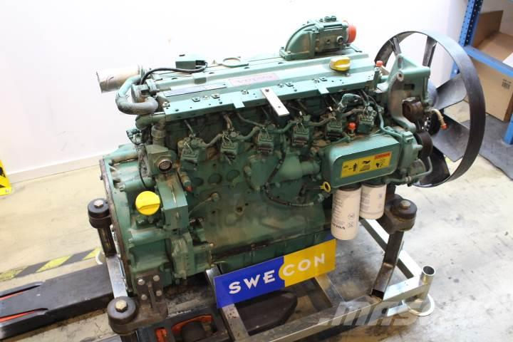 Volvo EW160B Motor komplett rak typ