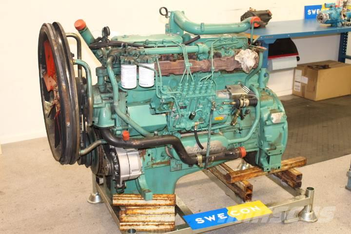 Volvo L120B Motor komplett rak typ