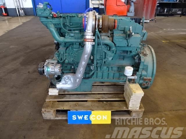 Volvo L120H Motor komplett