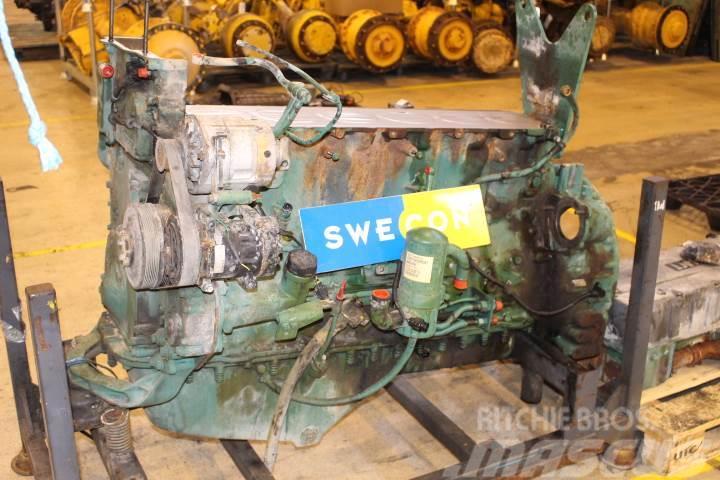 Volvo L180e Motor Komplett Rak Typ Til Salg Pris Kr 58