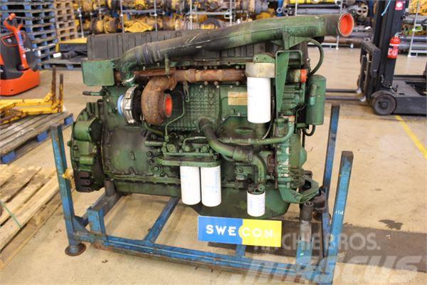 Volvo L220E Motor komplett rak typ
